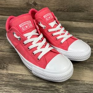 NEW Converse CTAS Madison Ox Pink Padded Sneakers